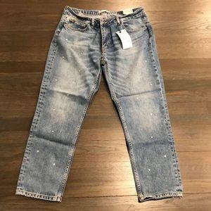 Zara cigarette jeans